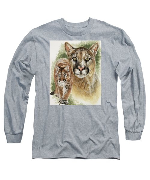 Mighty Long Sleeve T-Shirt by Barbara Keith
