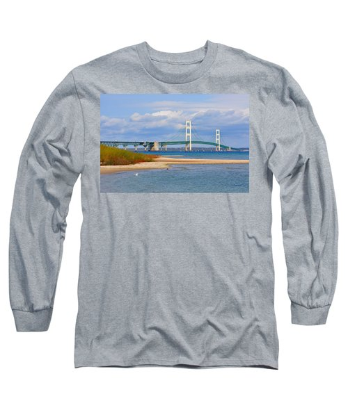 Mighty Mac In October Long Sleeve T-Shirt by Keith Stokes