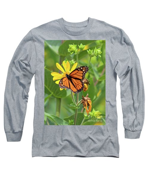 Mighty Monarch   Long Sleeve T-Shirt