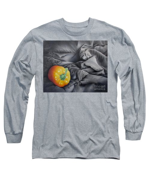 Mildly Yellow Long Sleeve T-Shirt