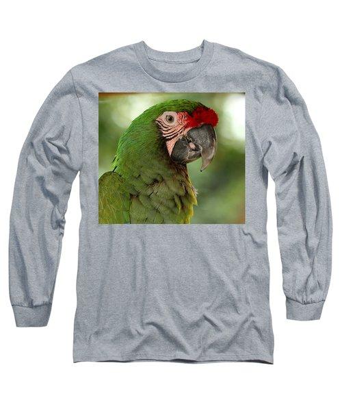 Military Macaw Long Sleeve T-Shirt