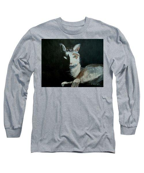 Milkshake The Cat Long Sleeve T-Shirt