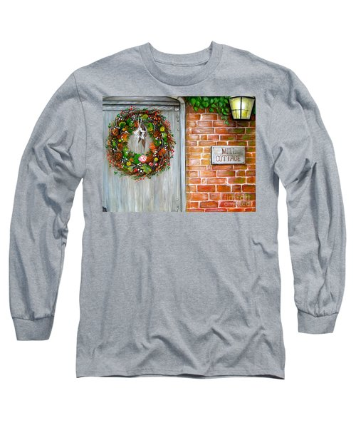 Mill Cottage Long Sleeve T-Shirt by Patrice Torrillo