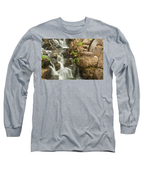 Mill Wheel With Waterfall Long Sleeve T-Shirt