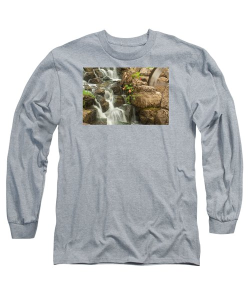 Mill Wheel With Waterfall Long Sleeve T-Shirt