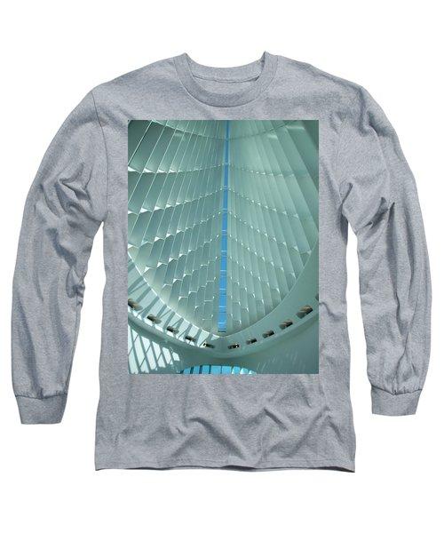 Milwaukee Art Museum Interior Long Sleeve T-Shirt