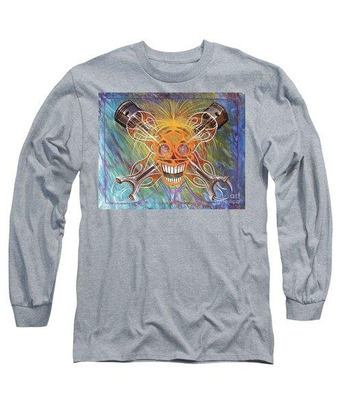 Mind Blown Motorhead  Long Sleeve T-Shirt