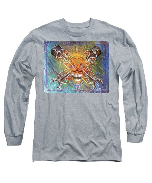 Mind Blown Motorhead  Long Sleeve T-Shirt