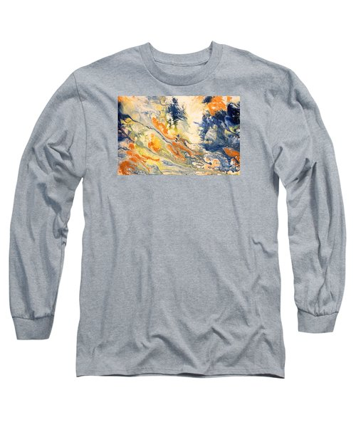 Mind Flow Long Sleeve T-Shirt by Gallery Messina