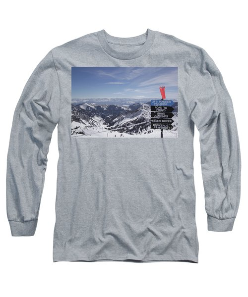 Mineral Basin Long Sleeve T-Shirt by Adam Jewell
