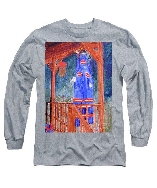 Miner's Overalls Long Sleeve T-Shirt