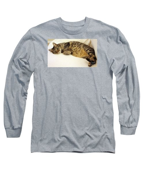 Ming Resting On The Couch Long Sleeve T-Shirt