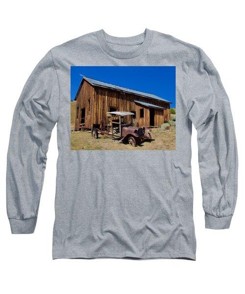 Mining Relic Long Sleeve T-Shirt by Todd Kreuter