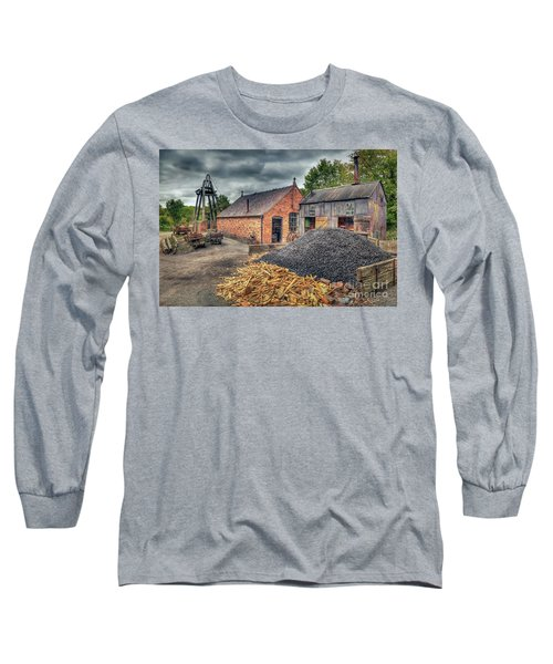 Long Sleeve T-Shirt featuring the photograph Mining Village by Adrian Evans