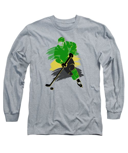 Minnesota North Stars Player Shirt Long Sleeve T-Shirt