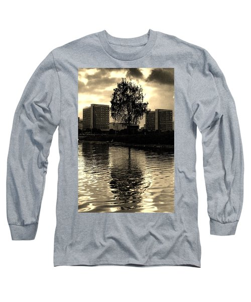 Minsk Dramatic View Long Sleeve T-Shirt by Vadim Levin