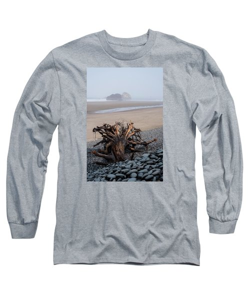 Minus Tide At Arch Cape Long Sleeve T-Shirt
