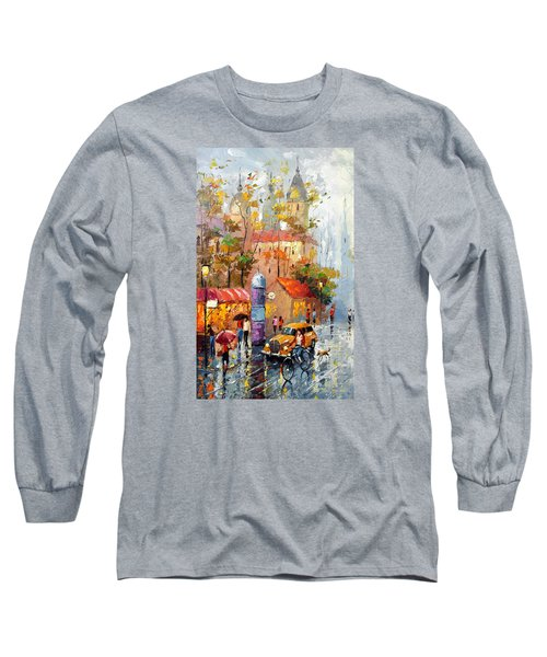 Minutes Of Waiting 2  Long Sleeve T-Shirt