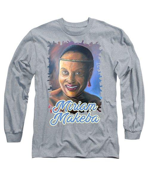 Miriam Makeba Long Sleeve T-Shirt