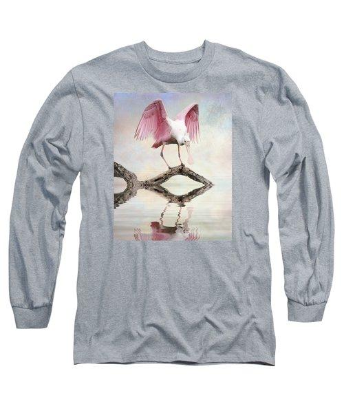 Mirror, Mirror,  Long Sleeve T-Shirt by Brian Tarr