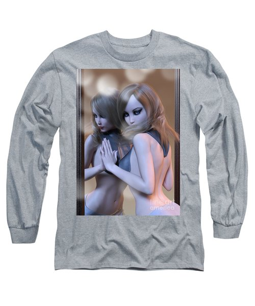 Mirrored Gaze Long Sleeve T-Shirt