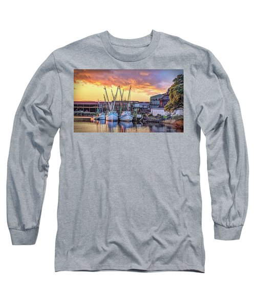 Miss Nichole's Shrimping Company Long Sleeve T-Shirt