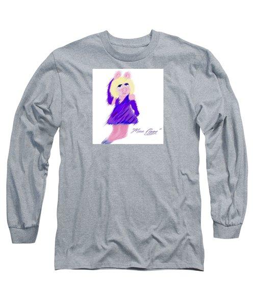 Miss Piggy Long Sleeve T-Shirt by Susan Garren