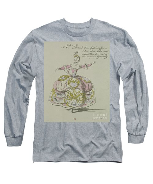 Miss Puvigne As Air, In Zoroastre, A Libretto By Cahusac Long Sleeve T-Shirt