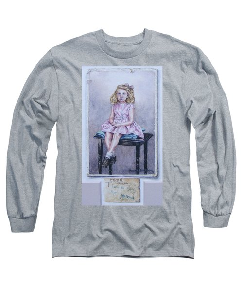 Missing Daddy, Devonshire 1940 Long Sleeve T-Shirt