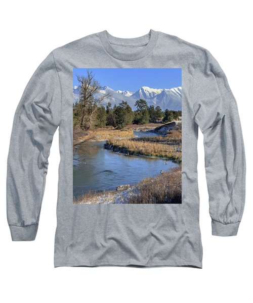 Mission Mountains Long Sleeve T-Shirt