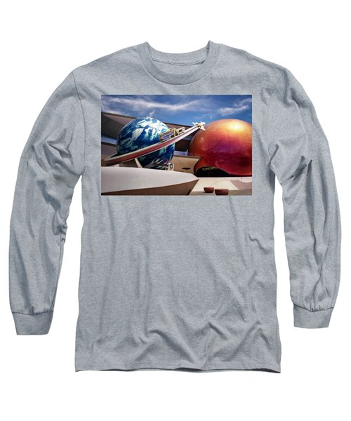 Long Sleeve T-Shirt featuring the photograph Mission Space by Eduard Moldoveanu