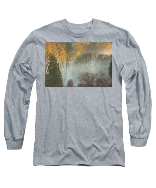 Mist In The Park Long Sleeve T-Shirt