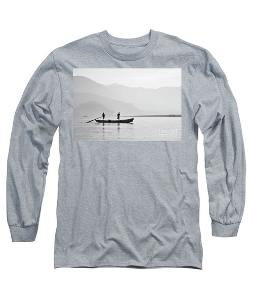 Misty Morning 3 Long Sleeve T-Shirt