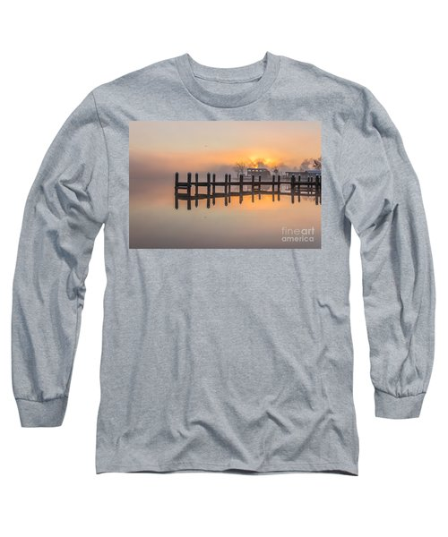Long Sleeve T-Shirt featuring the photograph Misty Morning by Brian Wright
