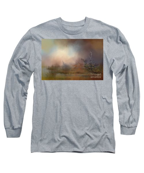 Misty Morning Long Sleeve T-Shirt by Kathy Russell