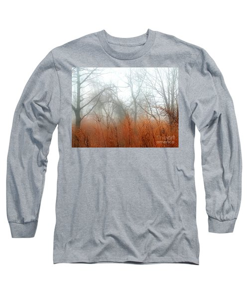 Misty Morning Long Sleeve T-Shirt by Raymond Earley