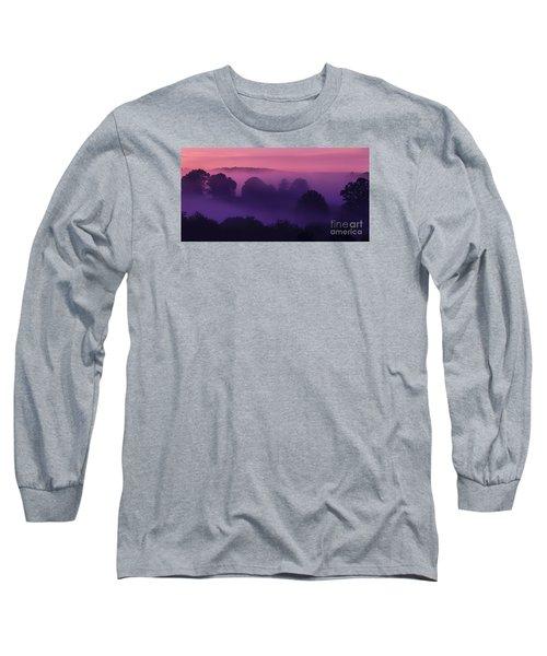 Misty Mountain Dawn Long Sleeve T-Shirt