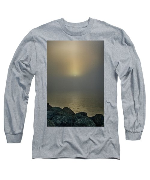 Misty Sunrise Morning Long Sleeve T-Shirt
