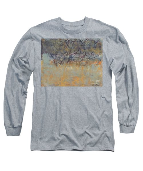 Misty Trees Long Sleeve T-Shirt