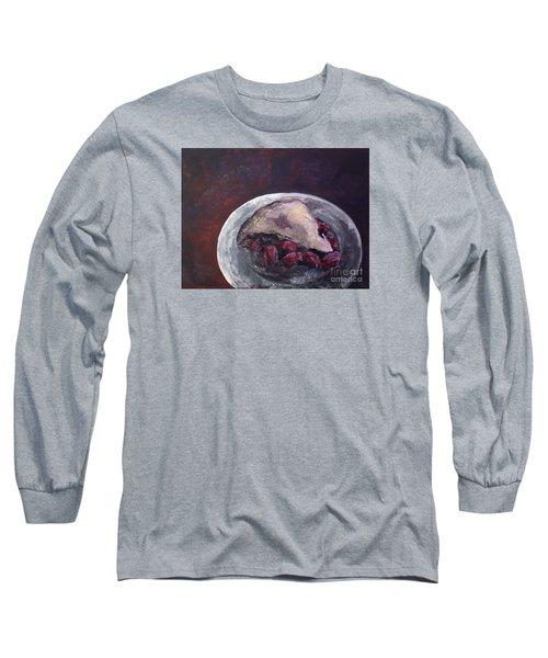 ...mmm Pie Long Sleeve T-Shirt by Joseph A Langley