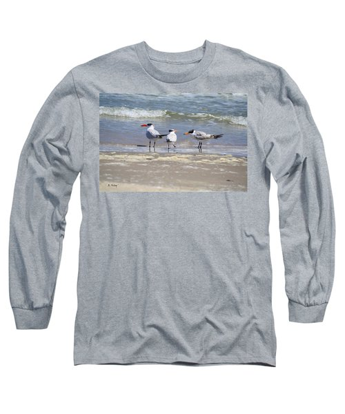 Moe And Larry And Curlie Long Sleeve T-Shirt