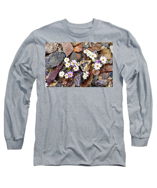 Mojave Desertstar Long Sleeve T-Shirt by Michele Penner