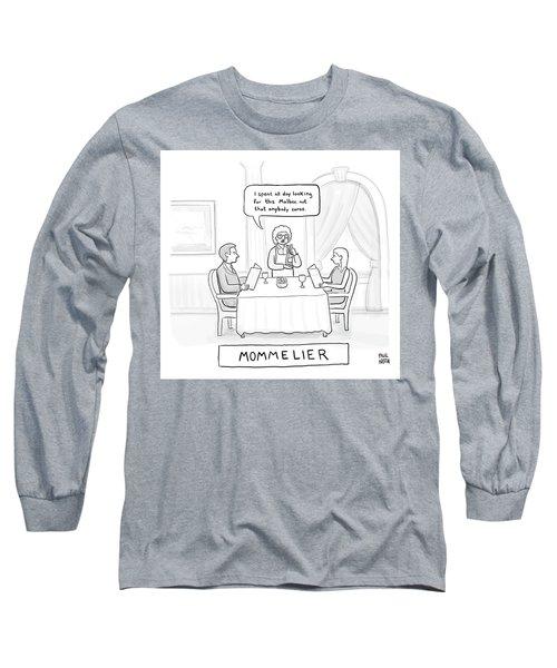 Mommelier Long Sleeve T-Shirt