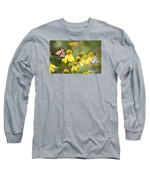 Long Sleeve T-Shirt featuring the photograph Monarchs Of Wisconsin by Ricky L Jones