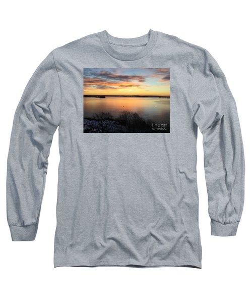 Monday, Monday Sunrise January 25, 2016 Long Sleeve T-Shirt