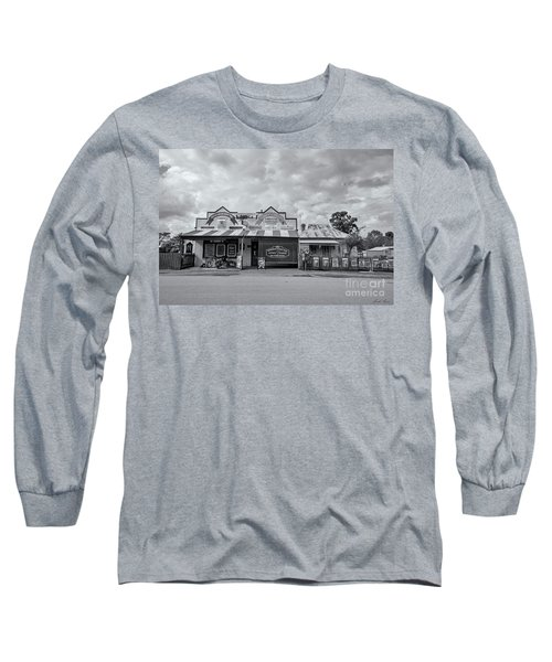 Long Sleeve T-Shirt featuring the photograph Monegeetta General Store by Linda Lees