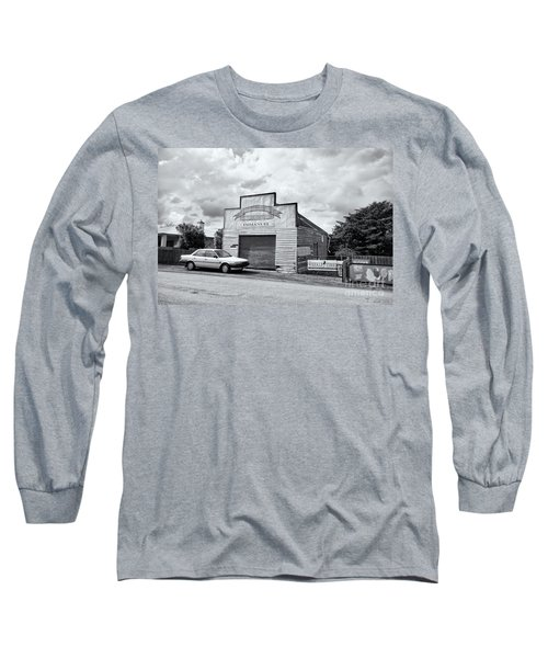 Long Sleeve T-Shirt featuring the photograph Monegeetta Produce Store by Linda Lees