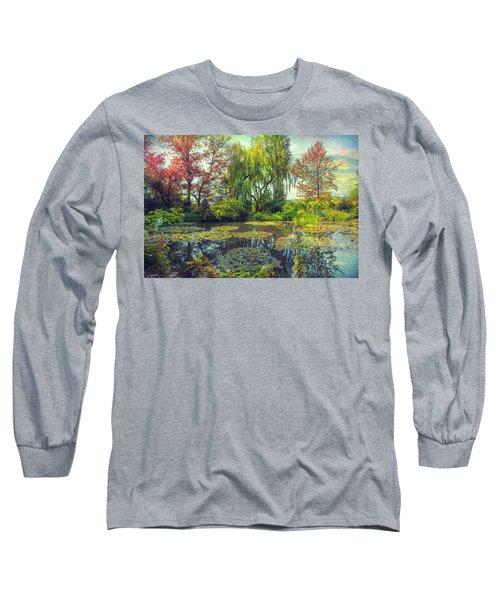 Monet's Afternoon Long Sleeve T-Shirt