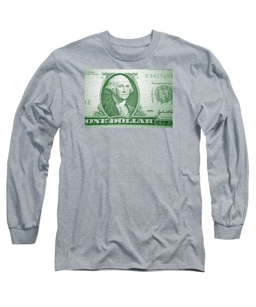 Money Puzzle Long Sleeve T-Shirt