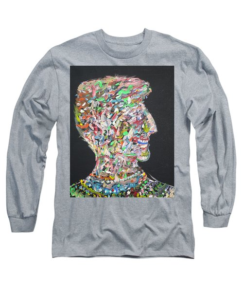 Long Sleeve T-Shirt featuring the painting Money,sex And Power by Fabrizio Cassetta